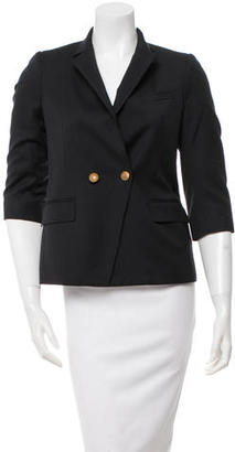 Boy. by Band of Outsiders Double-Breasted Wool Blazer $85 thestylecure.com