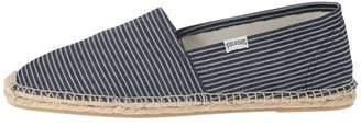 Soludos Original Espadrille in Classic Navy Stripe