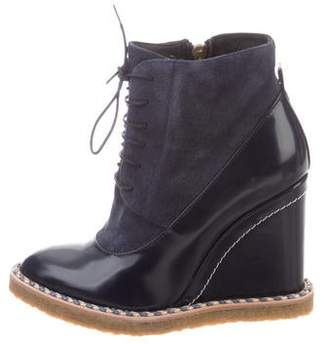 Paloma Barceló Aspen Wedge Ankle Booties