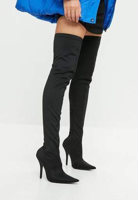 Missguided Extreme Pointed Over The Knee Boots