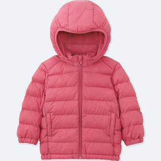Uniqlo Toddler Light Warm Padded Full-zip Parka