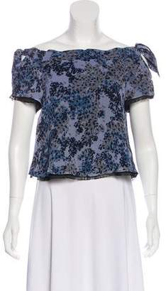 Timo Weiland Floral Crop Top