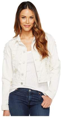 Hudson Garrison Cropped Jacket in Natural Riot Women's Coat