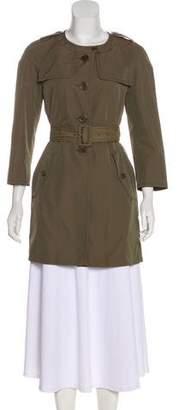 Miu Miu Button-Up Short Coat