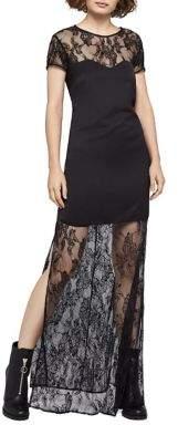 BCBGeneration Fit & Flare Maxi Dress