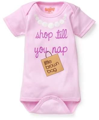 Bloomingdale's Sara Kety Girls' Bloomie's Shop Till You Nap Bodysuit, Baby - 100% Exclusive
