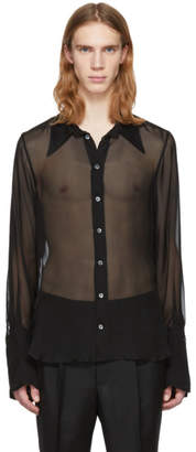 Ann Demeulemeester Black Boundless Shirt