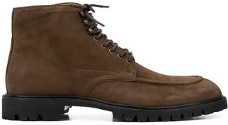 Hackett lace up ankle boots