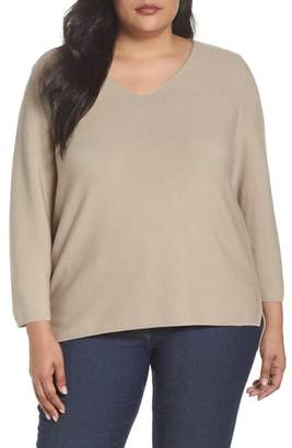 Marina Rinaldi Persona by V-Neck Sweater