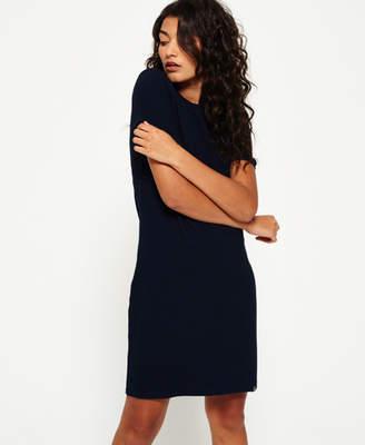 Superdry Zip Back T-shirt Dress