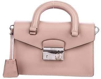 Prada Mini Saffiano Sound Crossbody Bag