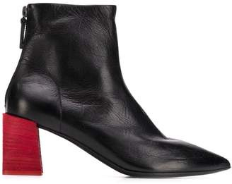 Marsèll contrast heel ankle boots