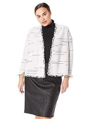 Nic+Zoe Women's Plus Size Planetary Mix Jacket