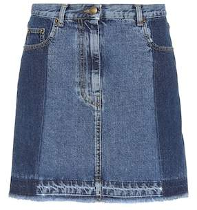 McQ Denim miniskirt