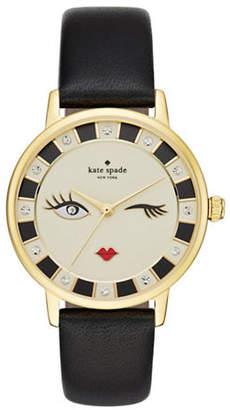 Kate Spade Novelty Metro Winking Eye Watch