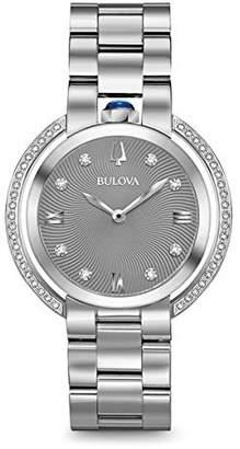 Bulova Diamond Ladies Women's Rubaiyat Watch 96R219