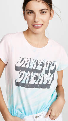 Pam & Gela Dare to Dream Logo Tie Dye Tee