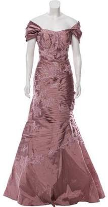 Jovani Off-The-Shoulder Evening Gown w/ Tags