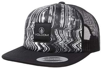 Volcom Junior's Don't Even Trip Flat Brim Mesh Hat
