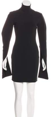 SOLACE London Franklin Long Sleeve Sheath Dress w/ Tags