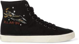 Ralph Lauren Solomon Canvas Sneaker