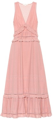 Jonathan Simkhai Broderie anglaise cotton dress