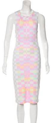 Mara Hoffman Geometric Midi Dress