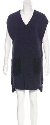 3.1 Phillip Lim Sleeveless Wool-Blend Dress