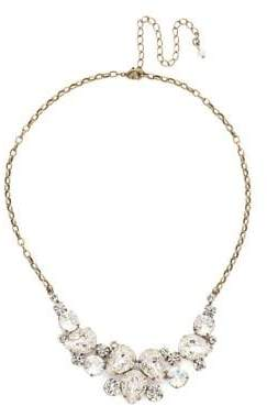 Sorrelli Core Nested Pear Statement Crystal Necklace
