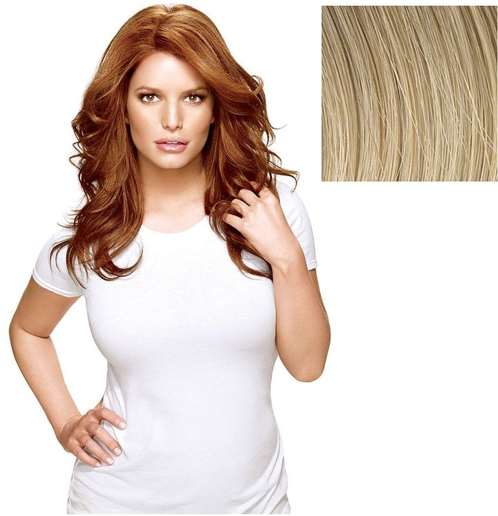 Hairdo. Long & Lush Styleable Wig from Jessica Simpson and Ken Paves, Golden Wheat