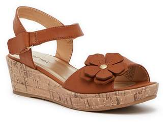 Nine West Nickey Wedge Sandal (Little Kid & Big Kid)