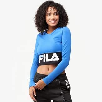 Fila Maria Crop Long Sleeve Top - Women's