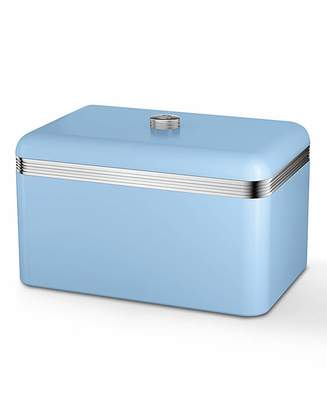 Swan Retro Bread Bin Sky Blue