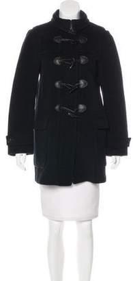 Burberry Wool Toggle Coat