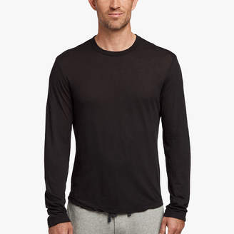 James Perse SHIRTTAIL HEM CREW