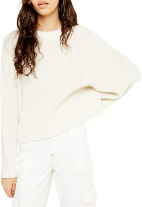 Topshop Deep Rib Knit Sweater