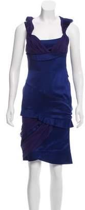 Gucci Silk-Blend Midi Dress
