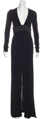 Michael Kors Long Sleeve Maxi Dress