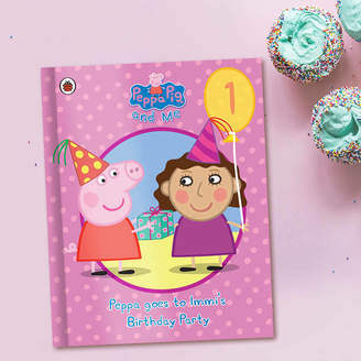 Peppa Pig Penwizard Birthday Party Pink Personalised Book