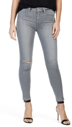 Women's Paige Transcend - Hoxton High Waist Ankle Skinny Jeans $209 thestylecure.com