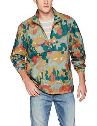Obey Men's Runaround Eyes Pullover Anorak Jacket
