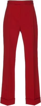 Maison Margiela High-Rise Crepe Trouser