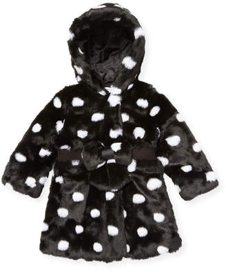 Little Marc Jacobs Dots Hooded Coat