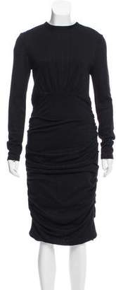 Yigal Azrouel Ruched Knit Dress w/ Tags