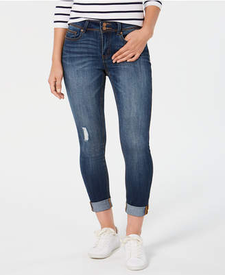 c4ab47c82 Indigo Rein Juniors' Ripped Rolled Skinny Jeans