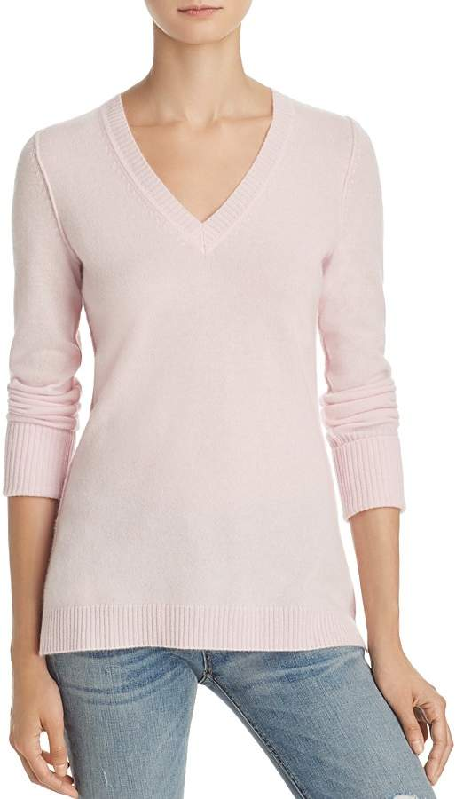 AQUA Cashmere V-Neck Sweater - 100% Exclusive