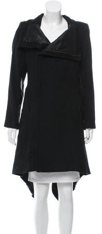 Alice + Olivia Alice + Olivia Wool Asymmetrical Coat