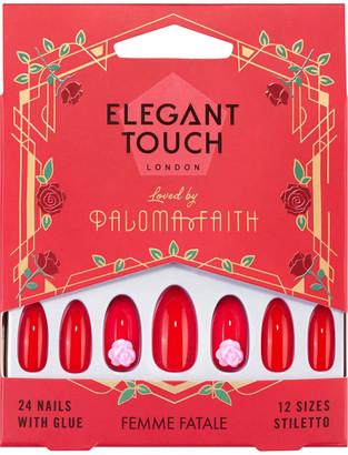 Elegant Touch X Paloma Faith Nails - Femme Fatale