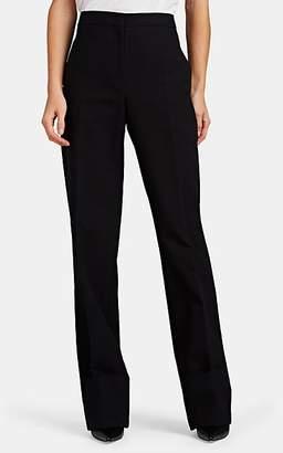Jil Sander Women's Garison Crepe Wide-Leg Trousers - Black