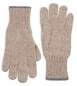 Brunello Cucinelli Men's Knit Cashmere Gloves
